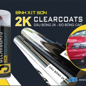 HGP AEROSOL PAINTS 2K CLEARCOAT
