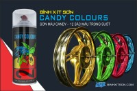 HGP AEROSOL PAINTS CANDY COLOUR