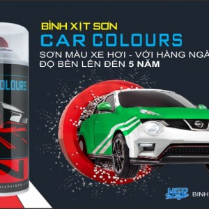 HGP AEROSOL PAINTS CAR COLOUR