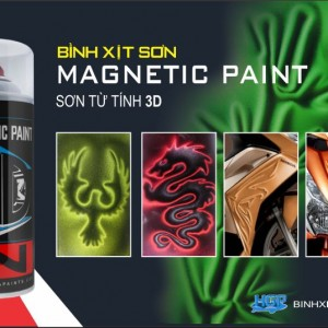 HGP AEROSOL PAINTS MAGNETIC 3D