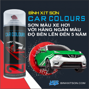 PROCESS OF USING HGP SPRAY PAINTS FOR CAR